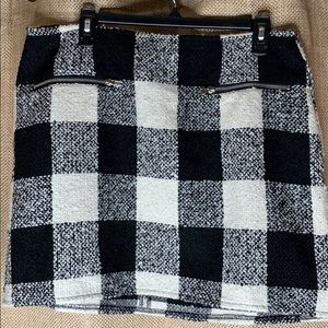 Plaid never been worn short(er) skirt !!